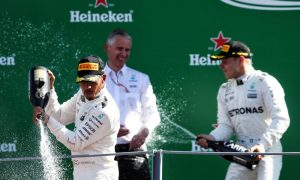 Italian GP: Podium pictures