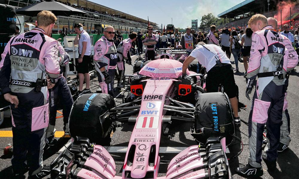 Sergio Perez, Force India, Italian Grand Prix