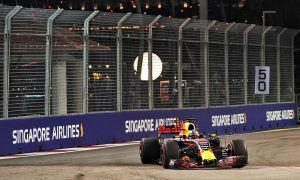 Ricciardo not surprised to be looking good in Singapore