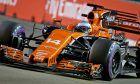 Fernando Alonso, McLaren, Singapore Grand Prix