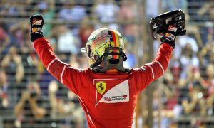 Vettel clinches crucial pole with blazing lap in Singapore