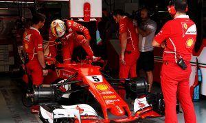 Vettel title hopes hit by engine disaster