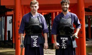 Ricciardo and Verstappen go for Kendo: the pictures