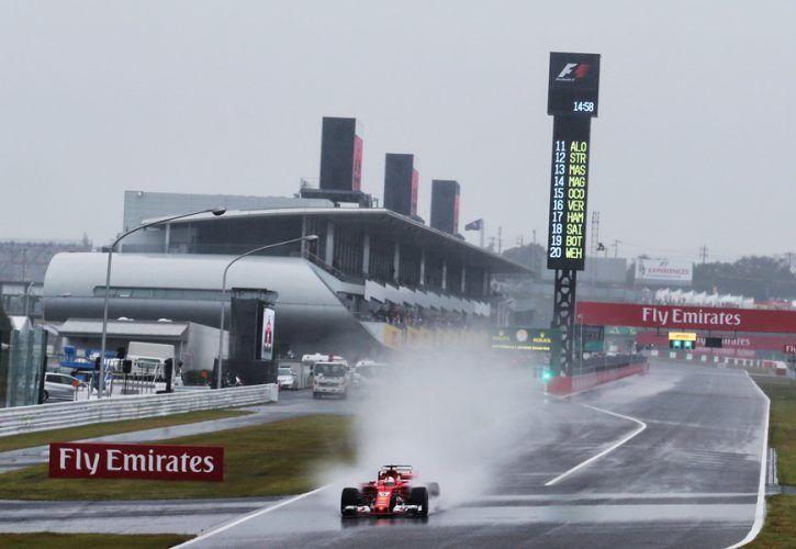 Sebastian Vettel, Ferrari, Japanese Grand Prix