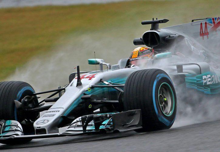 Lewis Hamilton, Mercedes, Japanese Grand Prix