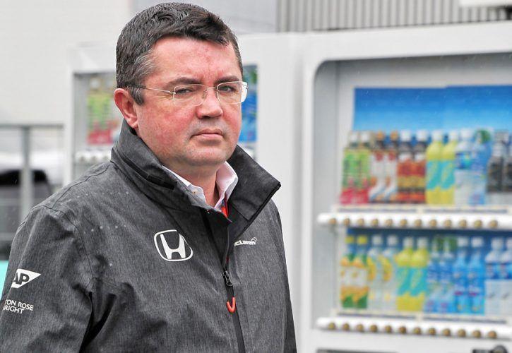 Eric Boullier, McLaren sporting director