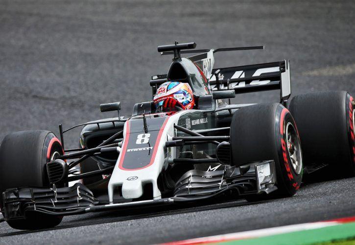 Romain Grosjean, Haas F1 Team, Japanese Grand Prix