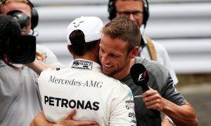 """Button: """"Hamilton et moi n'avons jamais été amis"""""""