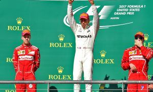 Hamilton edges toward title with victory in Austin