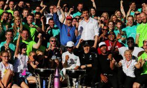 Gallery: Mercedes fourth world title celebration