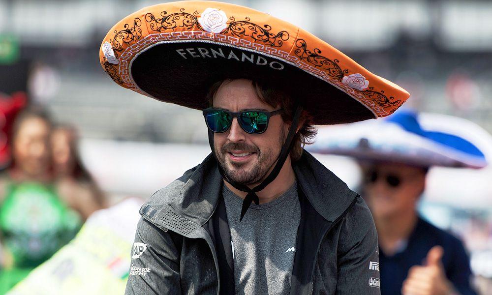 Fernando Alonso, McLaren, Mexican Grand Prix