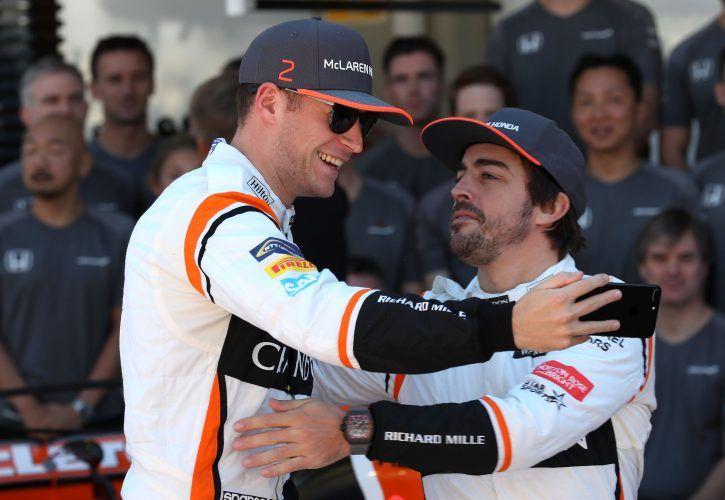 Fernando Alonso, Stoffel Vandoorne - McLaren