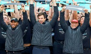 Wolff and Lauda hail efforts of entire Mercedes team