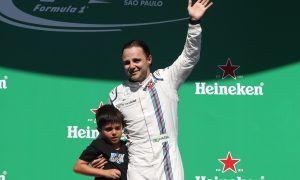 Felipa Massa, Williams F1, podium, Brazilian GP Race 12/11/17