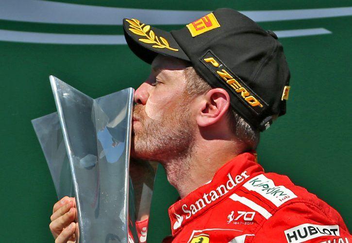 Sebastian Vettel, Ferrari, Brazilian Grand Prix