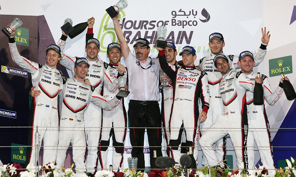 2017 Six Hours of Bahrain - Podium