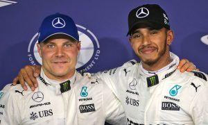 Hamilton praises 'exceptional job' from Bottas