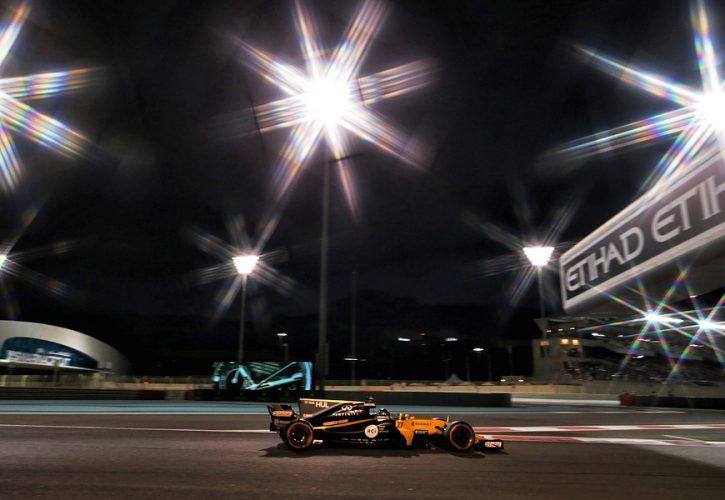 Nico Hulkenberg, Renault, Abu Dhabi Grand Prix