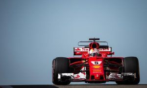 Vettel wraps up 2017 at the top of the timesheet
