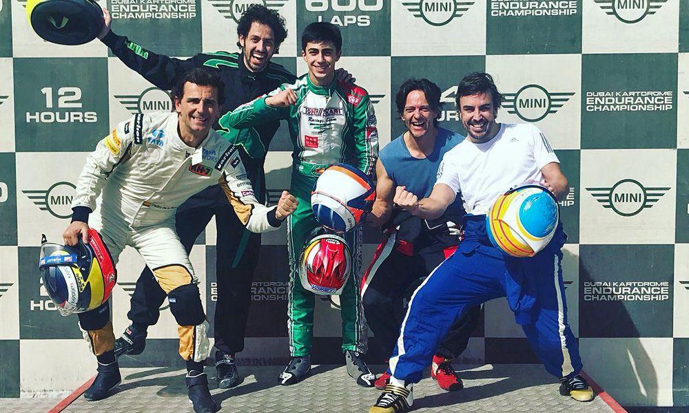 Fernando Alonso, Dubai Kartdrome 24 Hours