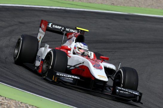 Sirotkin remained in GP2  for the 2016 season but moved to front-running outfit ART Grand Prix. Over the summer, he clinched two consecutive wins, at the Hungaroring and at Hockenheim. ©WRI2