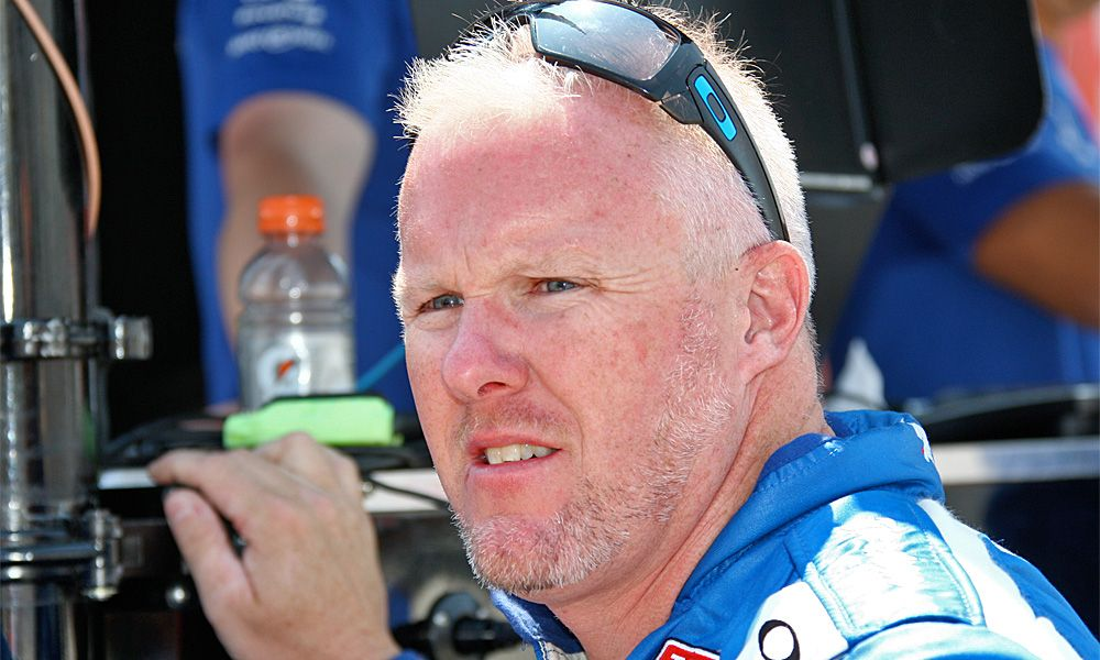 Paul Tracy during practice in Toronto, 2010