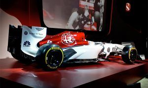 Sauber unveils bold new Alfa Romeo livery for 2018
