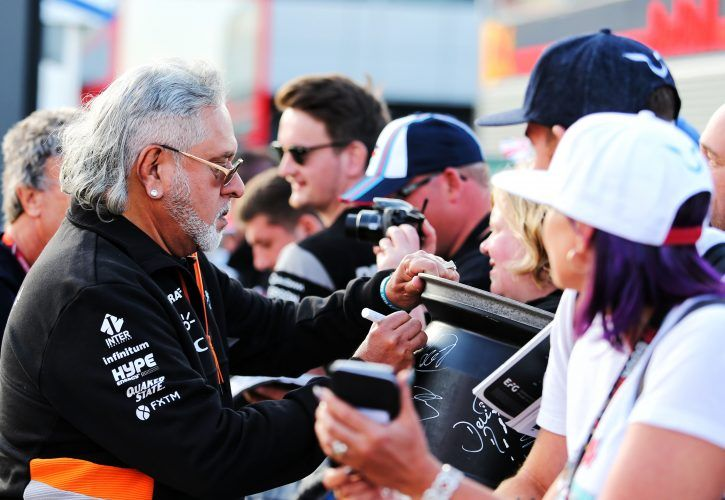 F1: Vijay Mallya relinquishes his position as managing director of Force India