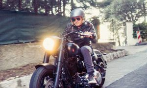 In an 'Easy Rider' mood