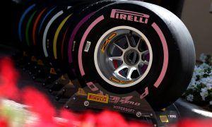 Pirelli tyres atmosphere. Yas Marina Circuit.