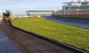 Resurfacing underway at 'bumpy' Silverstone