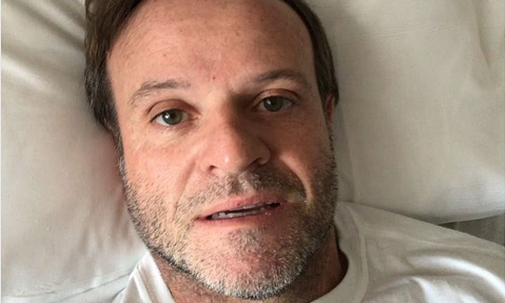 Rubens Barrichello in hospital