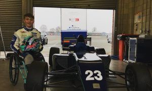 Undaunted Billy Monger is back in the saddle!