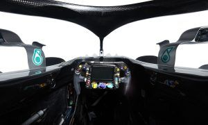 Mercedes releases studio shots of its W09