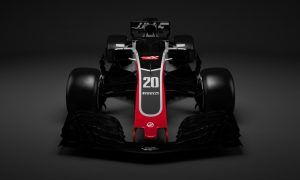 Haas F1 Team's 2018 charger breaks cover!