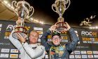 2018 RoC champion David Coulthard and runner-up Petter Solberg