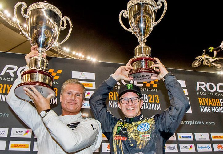 david coulthard triumphs in 2018 race of champions. Black Bedroom Furniture Sets. Home Design Ideas
