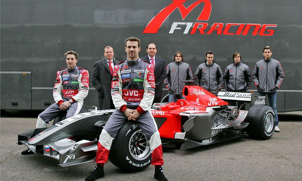 Midland MF1 Racing - 2006 launch