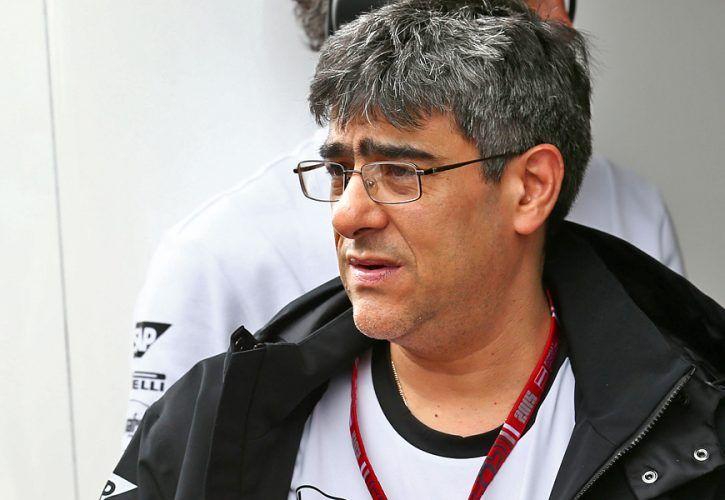 Peter Prodromou (GBR) McLaren Chief Engineer