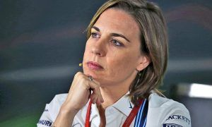 Claire Williams (GBR) Williams Deputy Team Principal