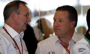 McLaren's Brown still pursuing 'big brands and big branding'