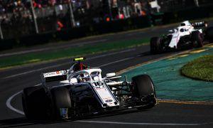 Sauber's Leclerc happy with 'fun' Grand Prix debut
