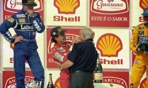 Senna rakes in win 100 for McLaren