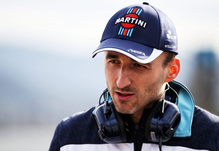 Robert Kubica (POL) Williams Reserve and Development Driver
