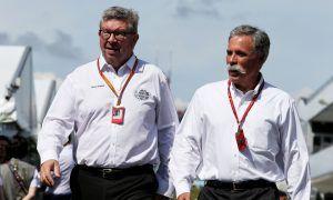 Budget cap still on Formula 1's agenda - Carey
