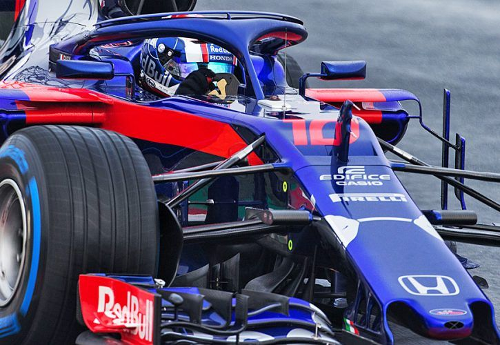 Pierre Gasly (FRA) Scuderia Toro Rosso-Honda STR13