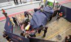 Max Verstappen - Red Bull Racing Bull hits problem