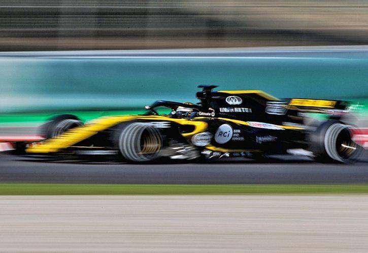 Nico Hulkenberg (GER) Renault Sport F1 Team RS18