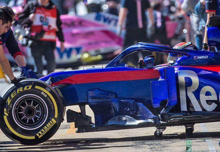 Brendon Hartley (NZL) Scuderia Toro Rosso STR13
