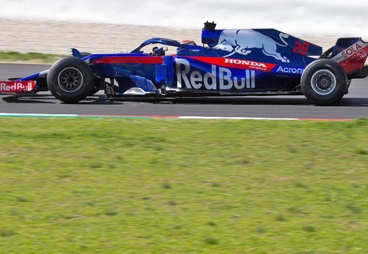 Brendon Hartley (NZL) Scuderia Toro Rosso/Honda STR13.